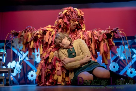 Aunt Beast healing Meg, A WRINKLE IN TIME at LTWS (by Dancing Lemur Photography)