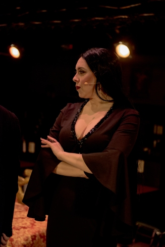 THE ADDAMS FAMILY at the Barn Dinner Theatre (Morticia) by Dancing Lemur Photography