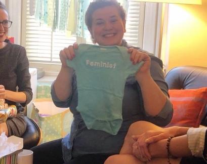 happy feminist mama! [stolen from Jessie Burke]