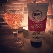 Razorless Cream Shave