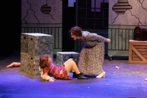 ANNIE at GSO City Arts (Miss Hannigan) by Sam McClenaghan